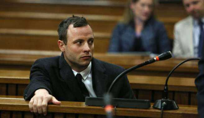 Paralympian Oscar Pistorius at the High Court in Pretoria, South Africa, 08 July 2014.