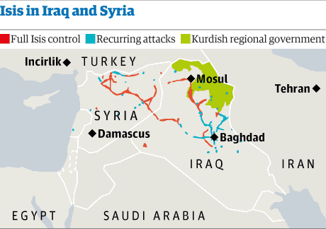 Isis has a central position, but not for long.