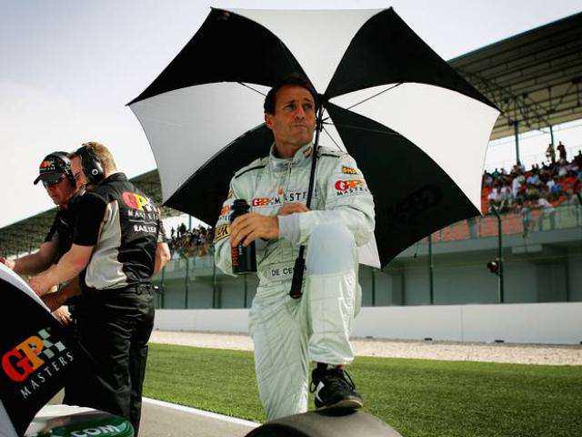 Ex-Formula One driver Andrea de Cesaris