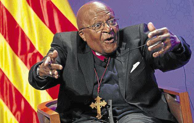 Nobel laureate Archbishop Emeritus Desmond Tutu. File photo. Photograph by: TONI ALBIR/EPA Archbisho